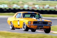historic 83 Terry Harper Mustang - Super Series - Rnd 5 - 7th Sep 2014-2