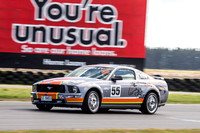 Improved Production 55 David Wrigley Ford Mustang - Super Series Round 2 - 19th April 2015 - Symmons Plains-2