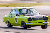 Historic Touring Car 19 Lachlan Thomas Ford Escort - 4th August 2013 - Symmons Plains-7