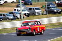 7 Ted Perkins - Lotus Cortina - Group N Under Three Litre - Saturday