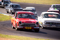 7 Ted Perkins - Lotus Cortina - Group N Under Three Litre - Sunday