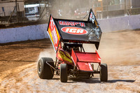 sprintcar 32 t32 Nick Penno - 2 - Carrick Practice - 17th Oct 2015-4