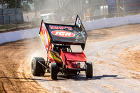 sprintcar 32 t32 Nick Penno - 2 - Carrick Practice - 17th Oct 2015-6