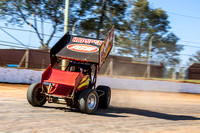 sprintcar 32 t32 Nick Penno - 2 - Carrick Practice - 17th Oct 2015-10
