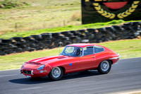 8 Chris Edwards - Jaguar E Type 1962 - Regularity Marque Sports Cars & Invited - Saturday-2