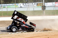 sprintcar 5 t5 adrian redpath - 2 - Latrobe Practice Day - 11th October 2014-13