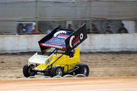 sprintcar 7 t7 tim hutchins - 2 - Latrobe Practice Day - 11th October 2014-3