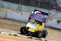 sprintcar 7 t7 tim hutchins - 2 - Latrobe Practice Day - 11th October 2014-2