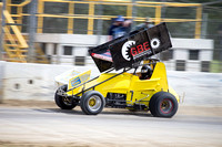 sprintcar 7 t7 tim hutchins - 2 - Latrobe Practice Day - 11th October 2014-7