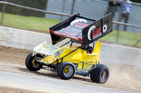 sprintcar 7 t7 tim hutchins - 2 - Latrobe Practice Day - 11th October 2014-6