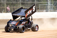 sprintcar 5 t5 adrian redpath - 2 - Latrobe Practice Day - 11th October 2014