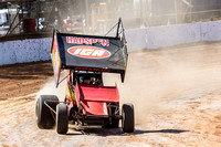 sprintcar 32 t32 Nick Penno - 2 - Carrick Practice - 17th Oct 2015