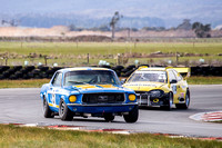 Historic Touring Car 5 John Talbot 68 Ford Mustang - Saturday - 29th August 2015