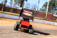 sprintcar 32 t32 Nick Penno - 2 - Carrick Practice - 17th Oct 2015-11
