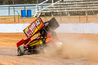 sprintcar 32 t32 Nick Penno - 2 - Carrick Practice - 17th Oct 2015-5