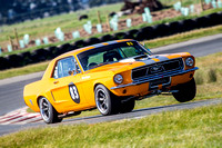 historic 83 Terry Harper Mustang - Super Series - Rnd 5 - 7th Sep 2014-3